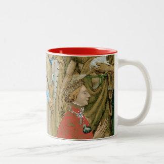 King Richard II - Wilton Diptych Two-Tone Coffee Mug