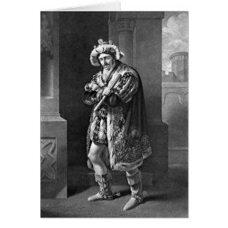 King Richard III 1814 Card