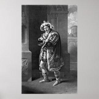 King Richard III 1814 Poster