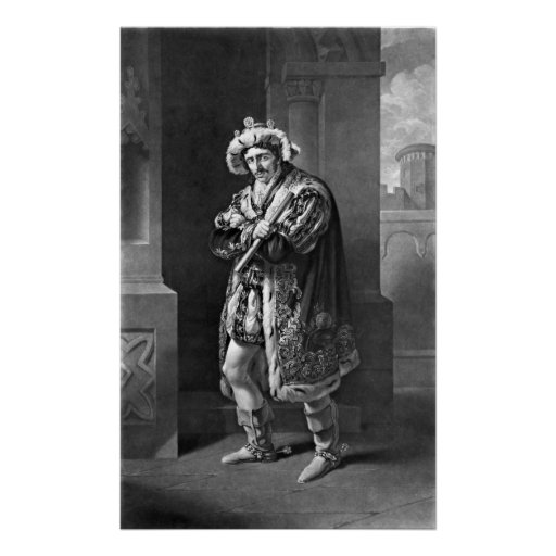King Richard III 1814 Print