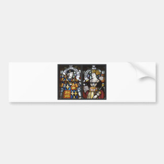 King Richard III and Queen Anne of England Bumper Sticker