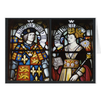 King Richard III and Queen Anne of England Greeting Card