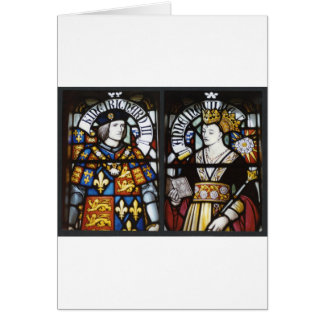 King Richard III and Queen Anne of England Card