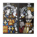 King Richard III and Queen Anne of England Ceramic Tiles