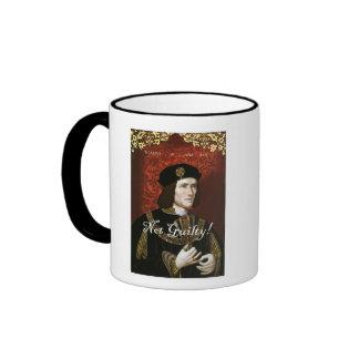 King Richard III - Not Guilty! Mug
