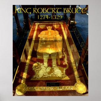 king robert bruce tomb poster