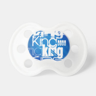 King; Royal Blue Stripes BooginHead Pacifier