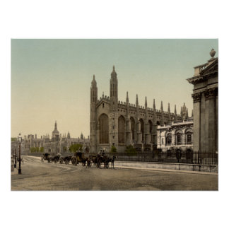 King s College Cambridge England Poster