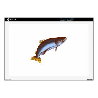 King Salmon Decal For Laptop