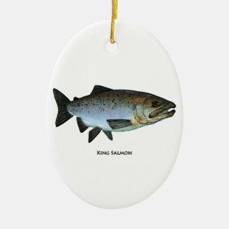 King Salmon Christmas Ornament