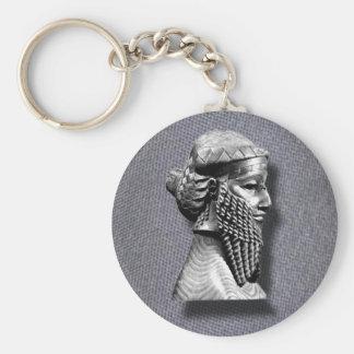 King Sargon II keychain