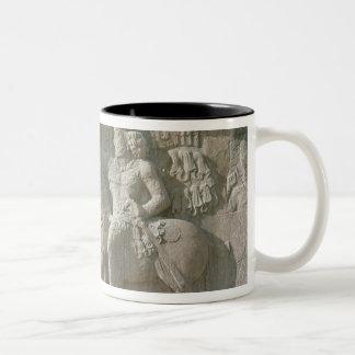 King Shapur I and Valerian Sassanian Coffee Mugs