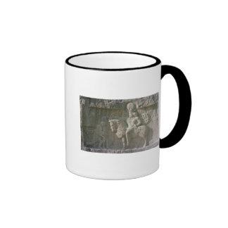 King Shapur I and Valerian Sassanian Mugs