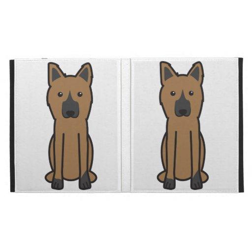 King Shepherd Dog Cartoon iPad Case