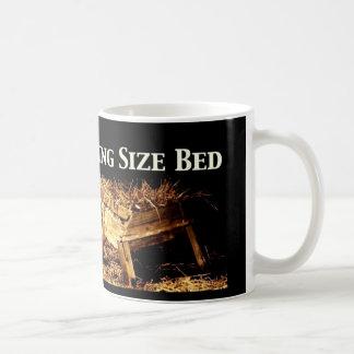 King Size Bed Christmas Coffee Mug