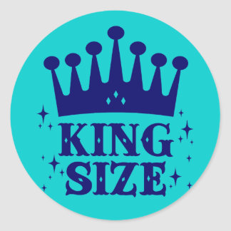 King Size Fun Sticker