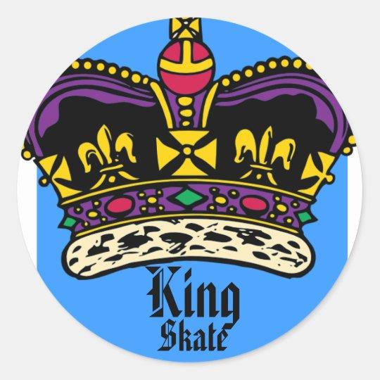 King Skate Sticker