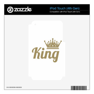 King Skin For iPod Touch 4G