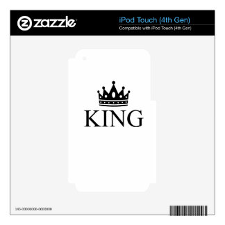 king skins for iPod touch 4G