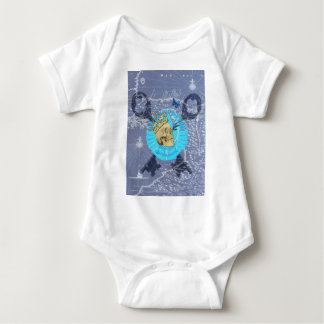 King Skull Baby Bodysuit