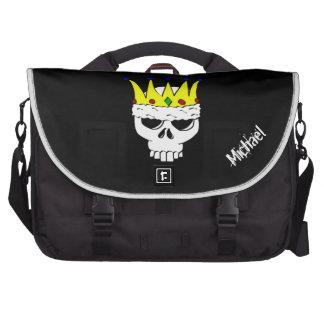 King Skull Laptop Bag Template