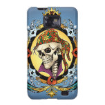 King Skull Pirate with Hearts by Al Rio Galaxy S2 Case