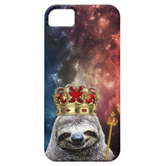 King sloth in space iPhone SE/5/5s case