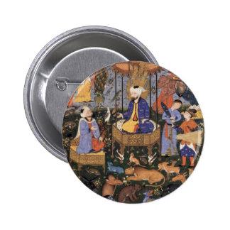 King Solomon By Persischer Meister Pinback Button