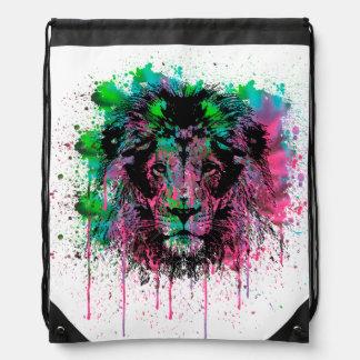 King Splat Drawstring Bag