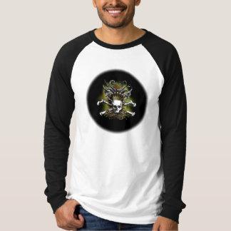 King Squid Skull Black T-Shirt