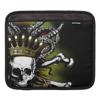King Squid Skull iPad Sleeves
