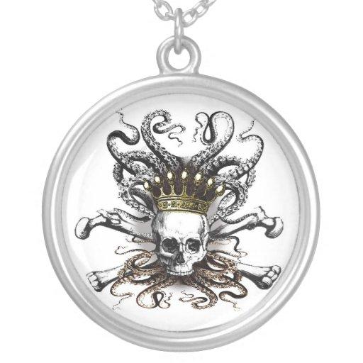 King Squid Skull Necklace