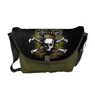 King Squid Skull Rickshaw Messenger Bag