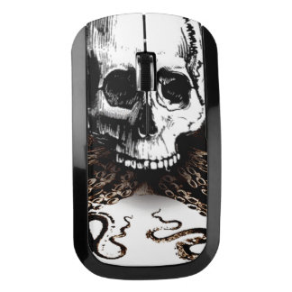 King Squid Skull Wireless Mouse