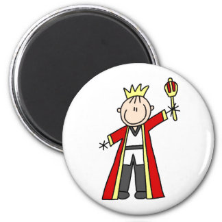 King Stick Figure Magnet