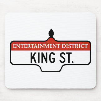 King Street, Toronto Street Sign Mouse Pad