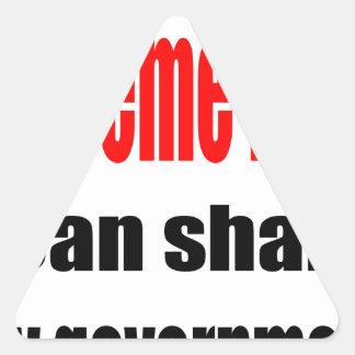king supreme ruler shake government arabian tyrann triangle sticker