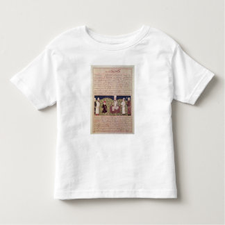 King surrounded by courtiers tee shirt