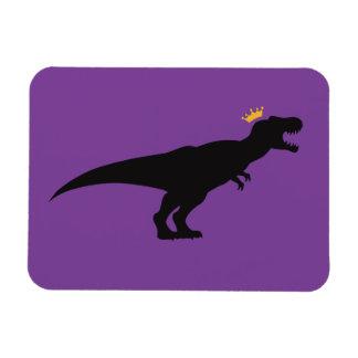 King T-Rex Rectangular Photo Magnet
