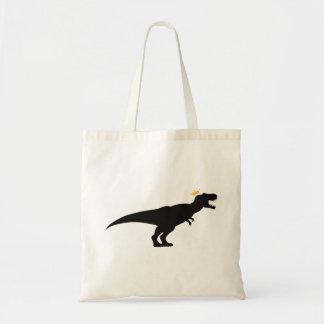 King T-Rex Tote Bag