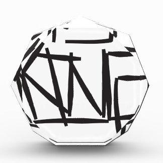 king tag acrylic award