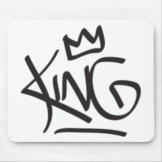 king tag crown mouse pad