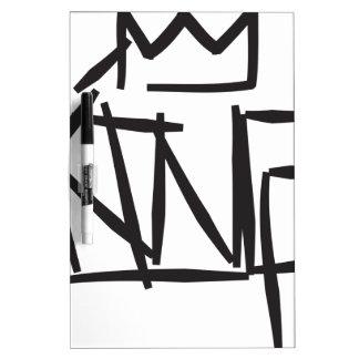 king tag Dry-Erase board