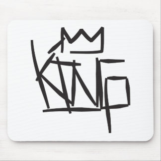 king tag mouse pad