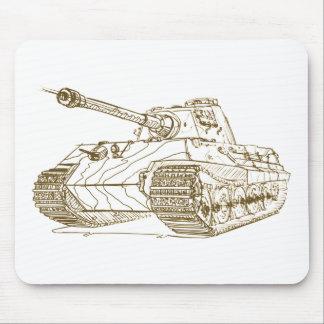 King Tiger II Konigstiger Mouse Pads