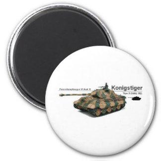 King Tiger Magnet