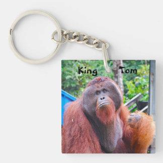 King Tom Orangutan in Borneo Key Chain