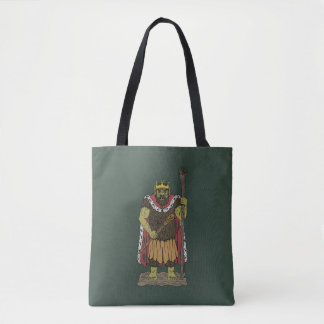 King Troll Tote Bag