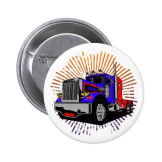 King Trucker Button