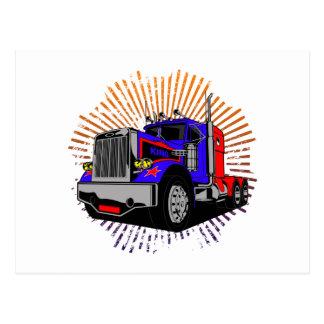 King Trucker Postcard